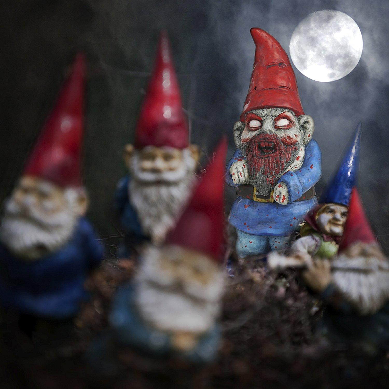 Nain De Jardin Zombie - Cadeau Zombie   Avant J'étais Riche tout Nain De Jardin Zombie