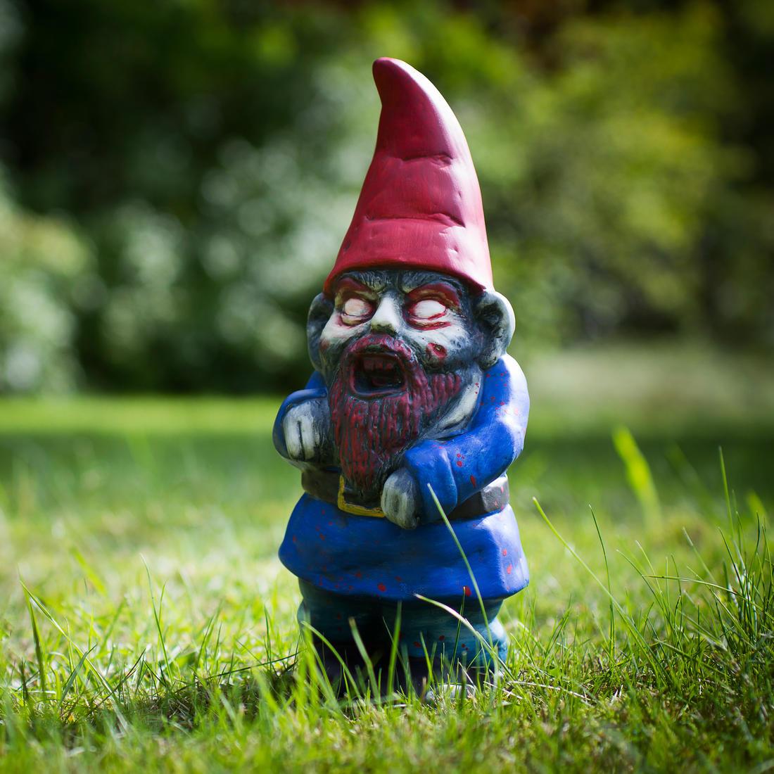 Nain De Jardin Zombie | Getdigital serapportantà Zombie De Jardin
