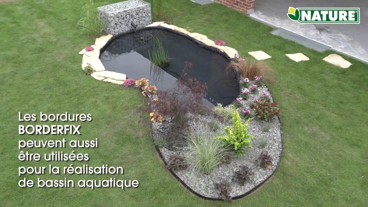 Nature Bordure Pour Jardin Et Bassin Bordefix avec Bordure Jardin Pas Cher