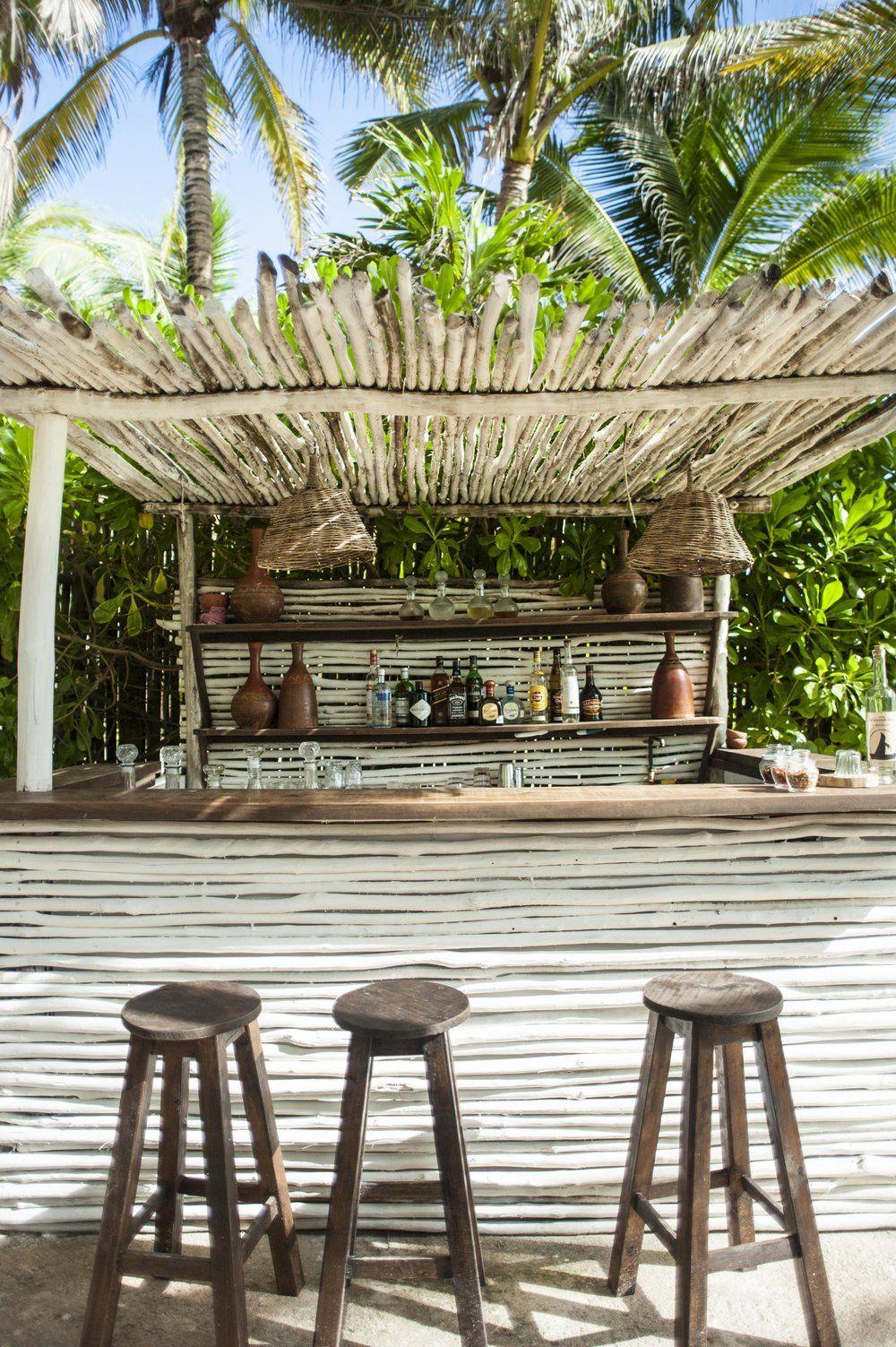 Nest, Tulum | Bar Exterieur, Bar Jardin Et Bars De Plage pour Paillote Jardin
