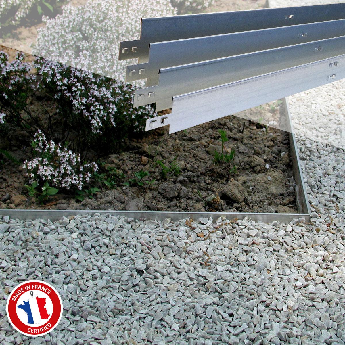 Nidaborder | Nidaplast encequiconcerne Bordure De Jardin En Acier Galvanisé