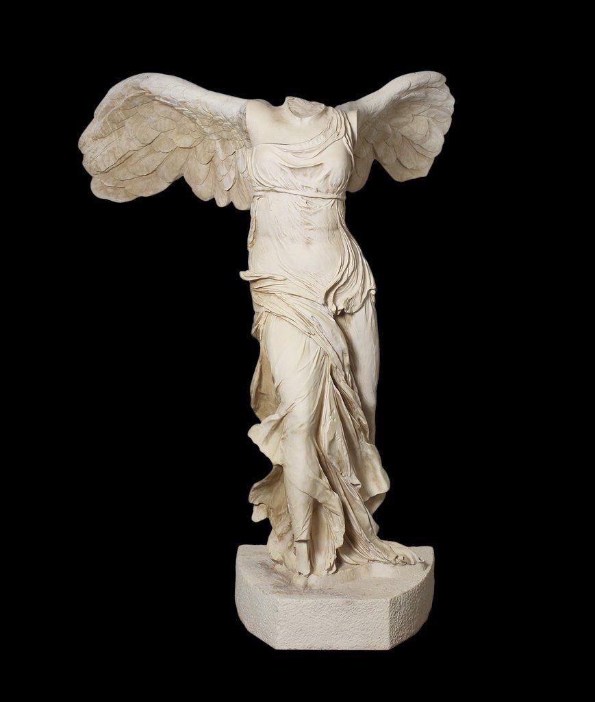 Nike Life-Size Statue (Large) - Winged Victory Of Samothrace ... concernant Statue De Jardin D Occasion