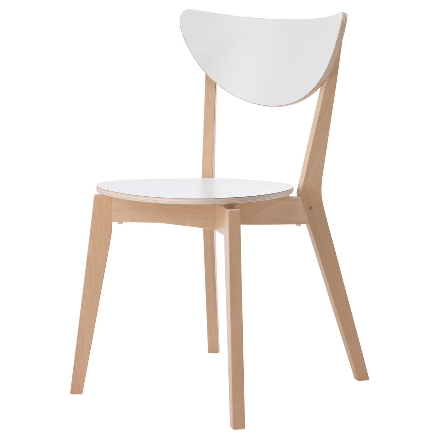 Nordmyra Chaise - Blanc, Bouleau destiné Chaises De Jardin Ikea