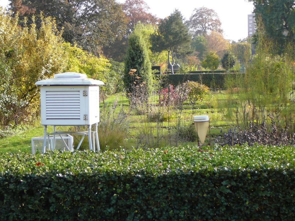 Normales Et Records Climatologiques 1981-2010 À Radome Rouen ... avec Station Meteo De Jardin