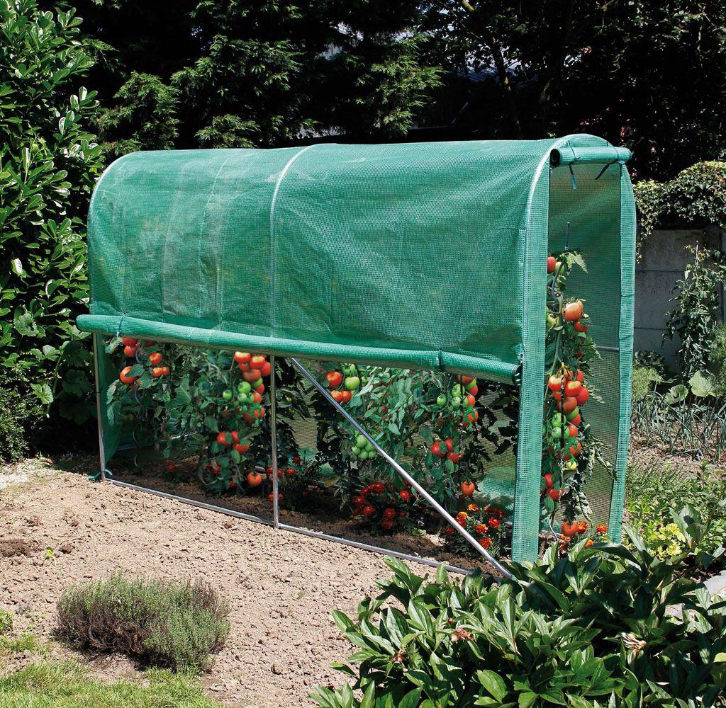 Nortene, Tomato Greenhouse : Serre Tunnel Pour Potager ... serapportantà Tunnel Pour Jardin