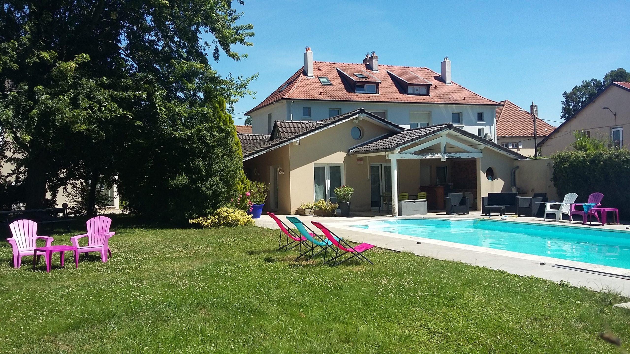 Nos Autres Sites – Bnb Metz, Les Chambres De L'ile serapportantà Les Jardins Du Golf Metz