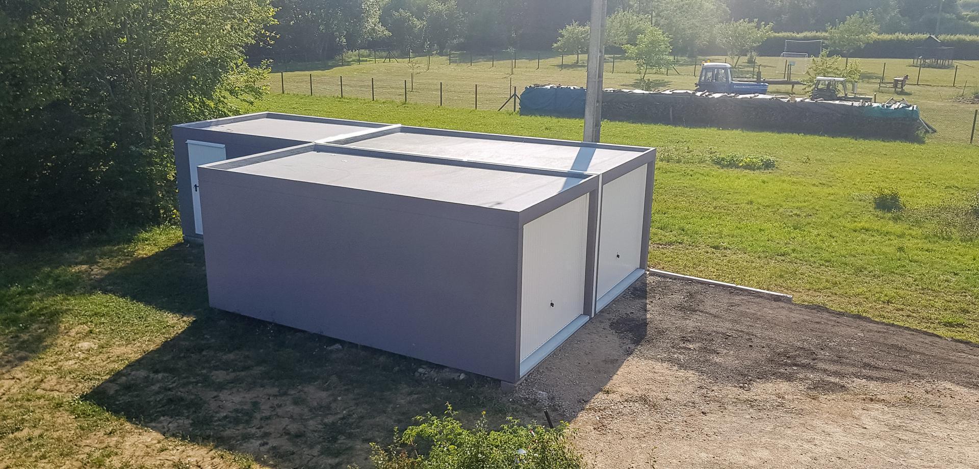 Nos Produits Metz, Thionville, Nancy | Century Box serapportantà Abri De Jardin Prefabrique En Beton