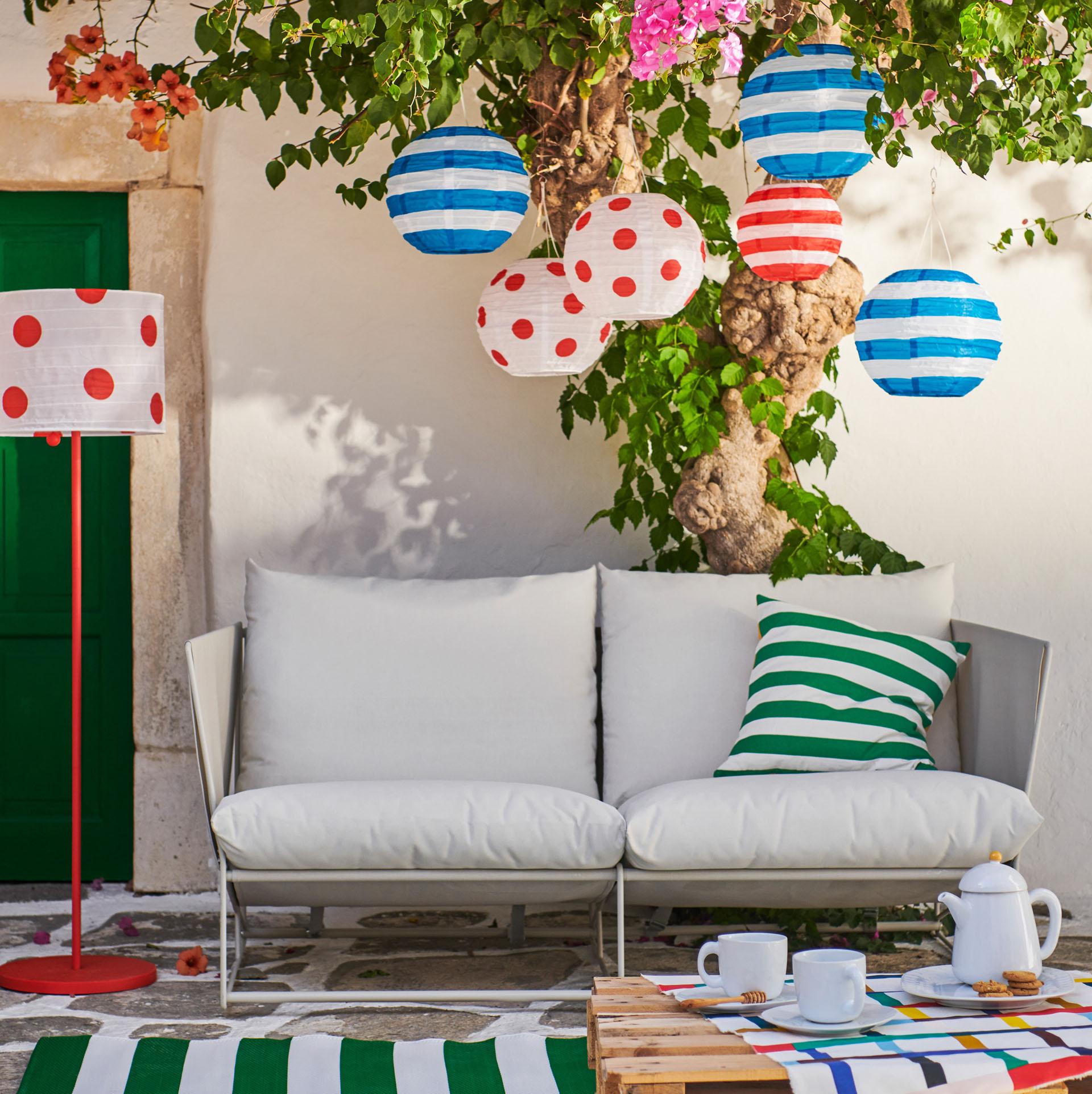 Notre Déco De L'été 2019 Selon Ikea - Cdeco.fr Décoration ... pour Mobilier De Jardin Ikea