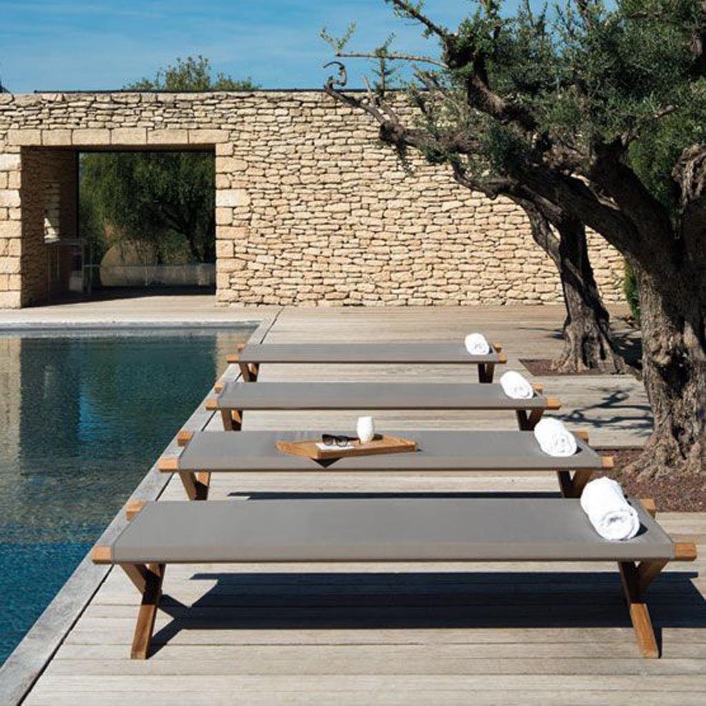 Notre Sélection De Mobilier De Jardin Pour Un Extérieur Qui ... intérieur Lit Exterieur Jardin