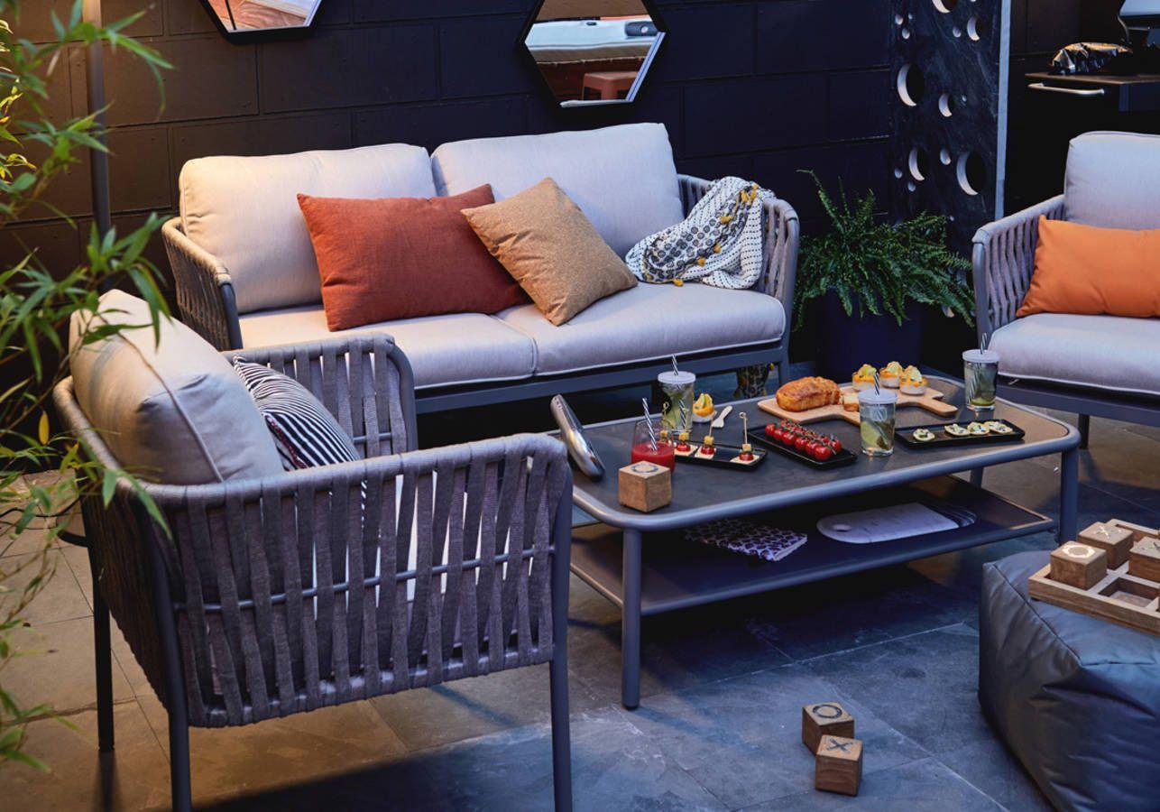 Notre Sélection De Mobilier De Jardin Pour Un Extérieur Qui ... intérieur Solde Salon De Jardin Leroy Merlin