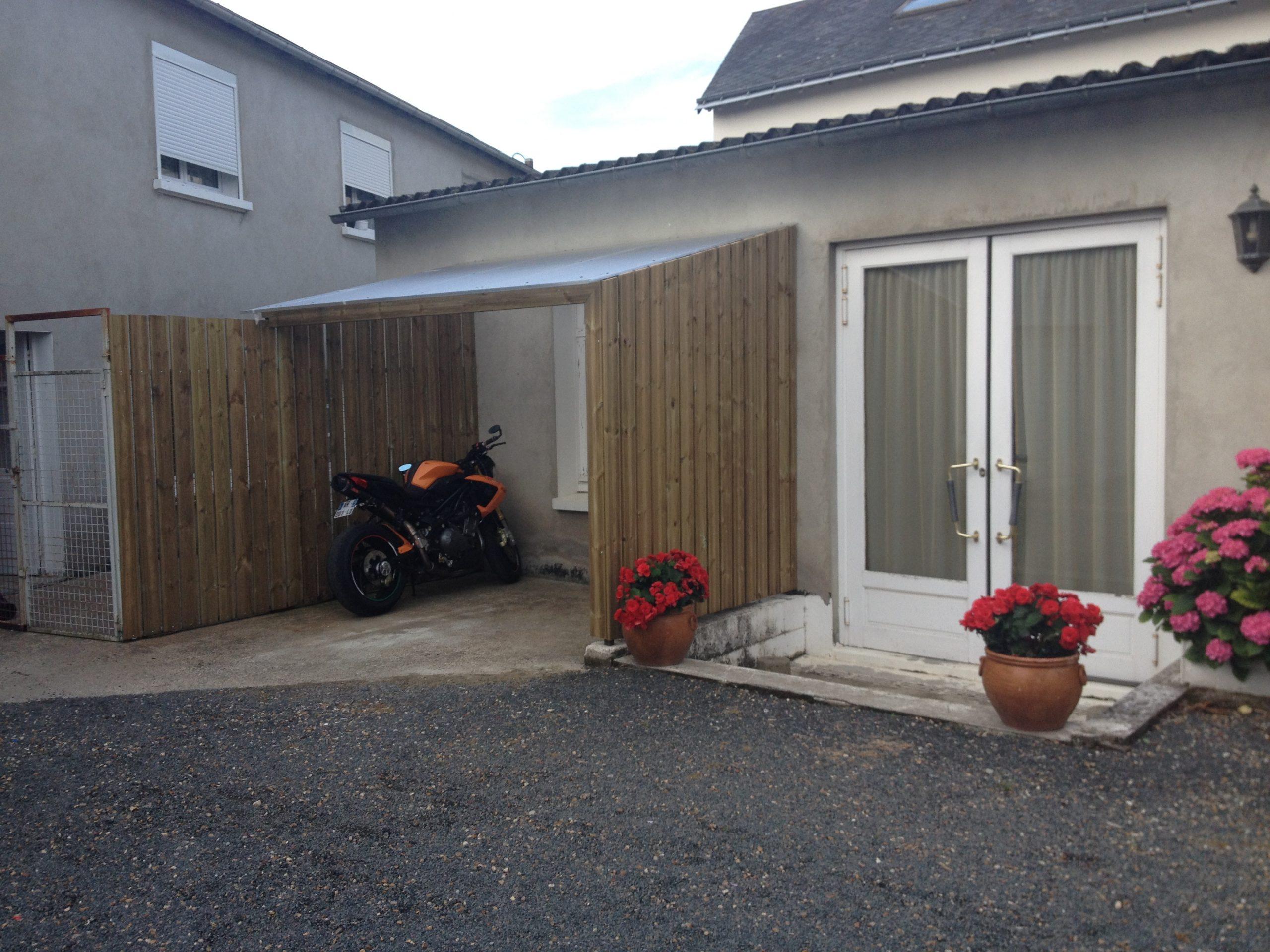 Nouveau! Un Abri Vélo / Moto | Clair Cottage à Abri Moto Jardin