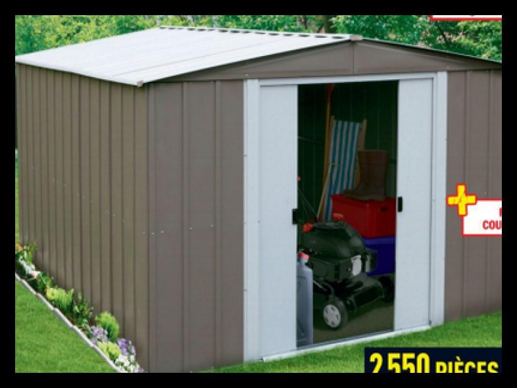 Nouveaux Produits F7737 9E466 Brico Chalet - Uscompiegne.fr serapportantà Abris De Jardin Metal Brico Depot