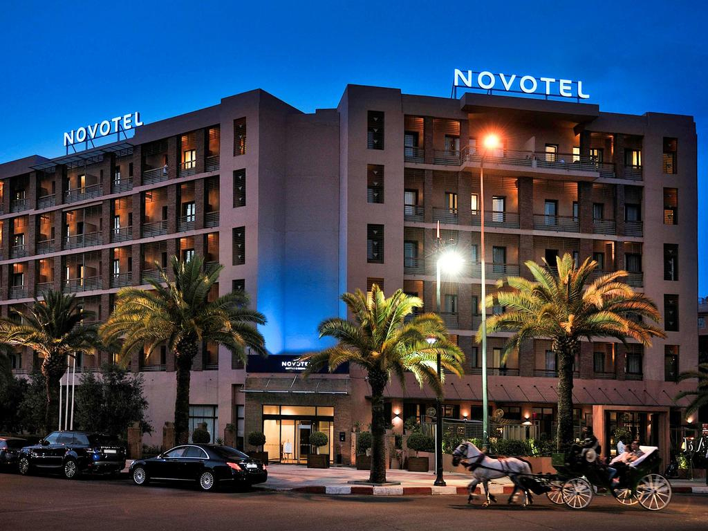 Novotel Marrakech Hivernage (Fas Marakeş) - Booking dedans Super U Salon De Jardin