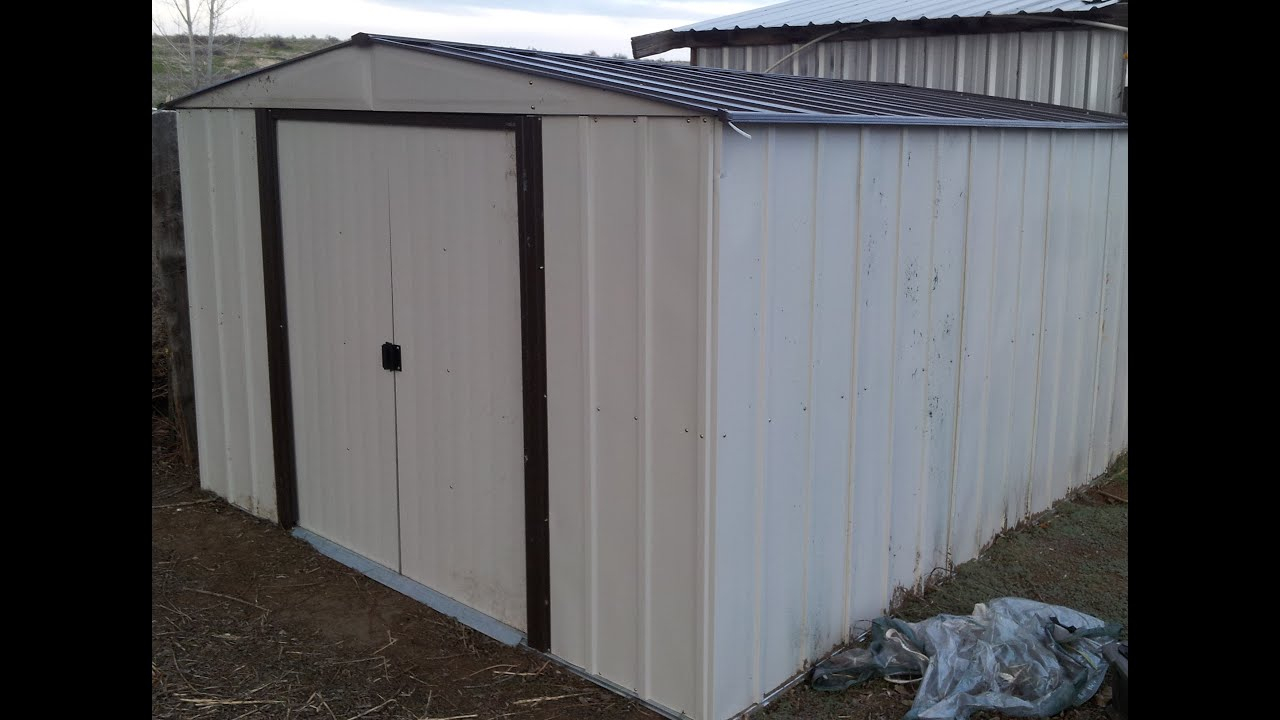 Np101267 10'x12' Arrow Storage Shed Assembly - L2Survive With Thatnub dedans Abri De Jardin Arrow