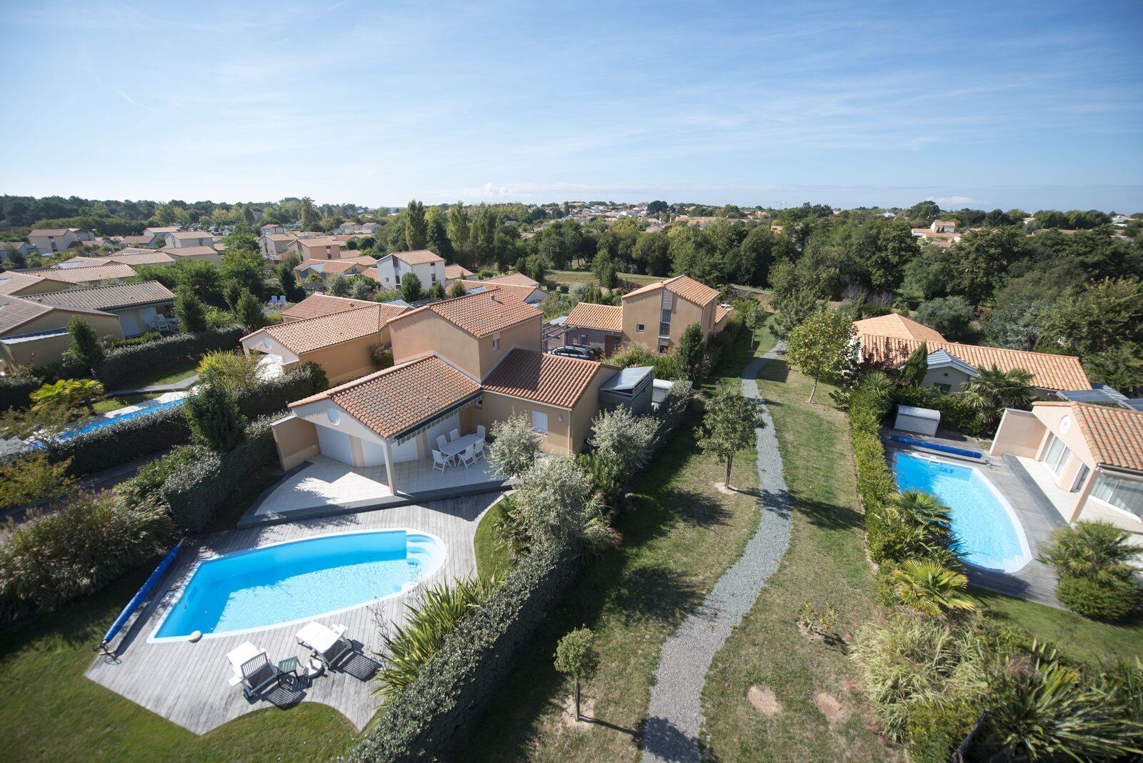 Oasis Les Jardins Des Sables D'olonne | Villa's In The Vendee dedans Les Jardins Du Chateau D Olonnes