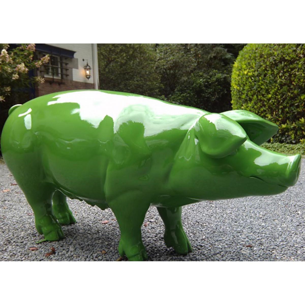 Objet Déco Cochon En Résine Pour Extérieur Texartes à Objets Decoration Jardin Exterieur
