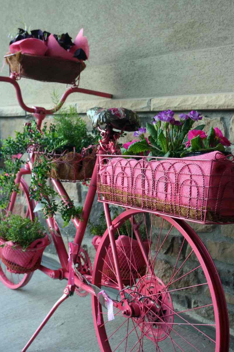 Objets De Récupération En Décoration- L'art D'embellir Le ... tout Recup Pour Le Jardin