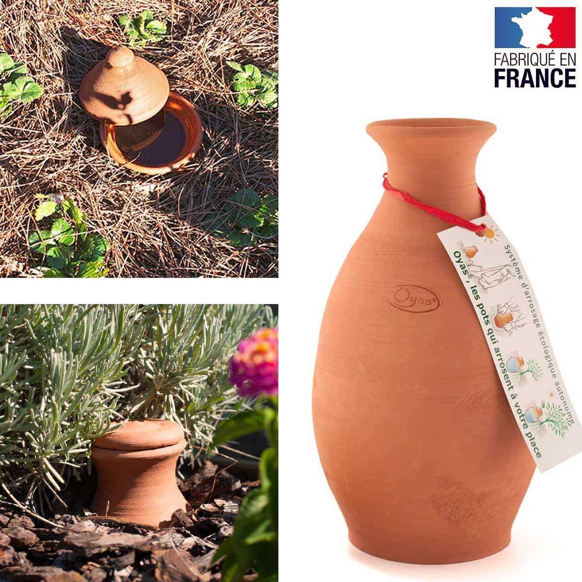 Ollas Avec Bouchon 5 Litres Arrosage Pots Et Sol Céramique ... tout Jarre De Jardin