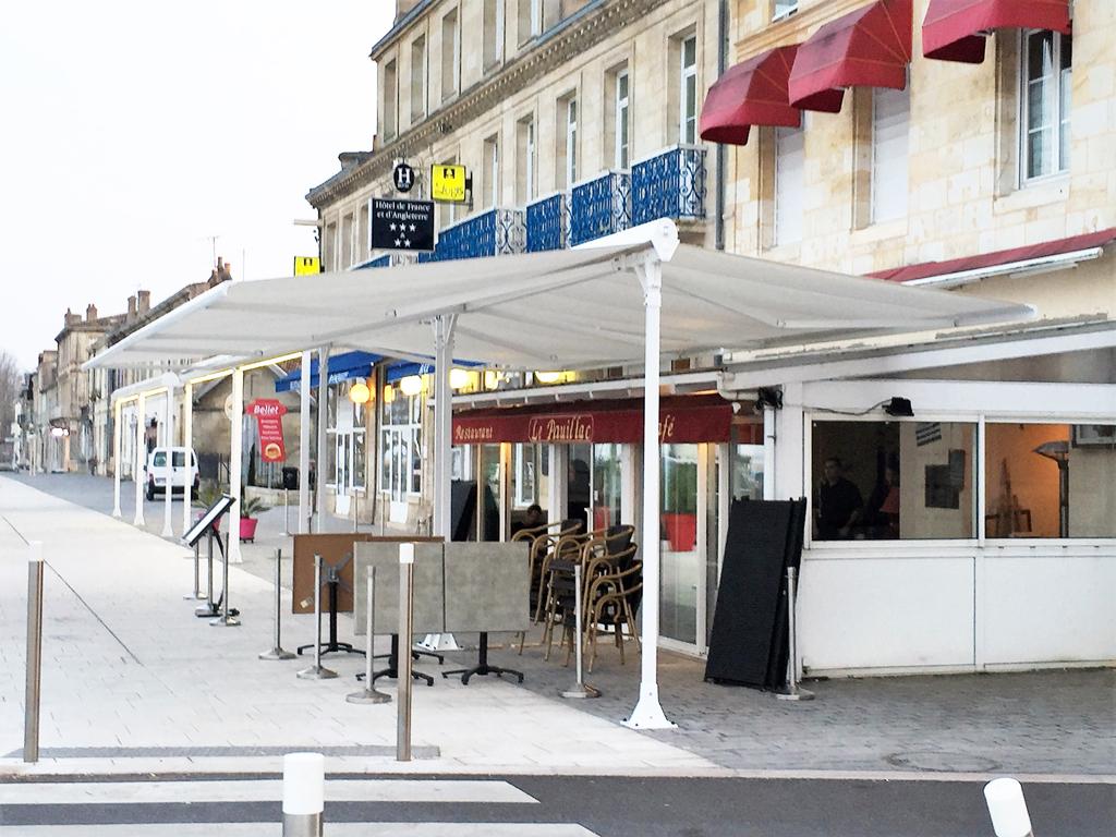Ombra-Jardin Motorisé - Stores De France tout Store De Jardin Double Pente