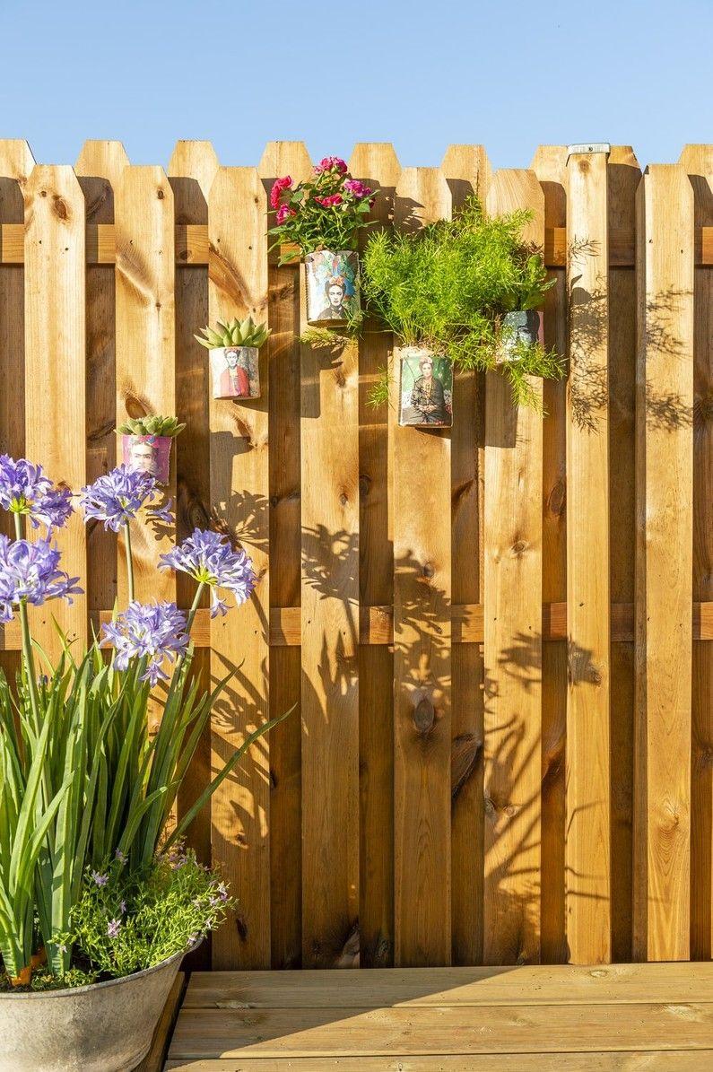 On Décore Les Panneaux Bois | Leroy Merlin | Panneau Bois ... avec Cloture Jardin Leroy Merlin