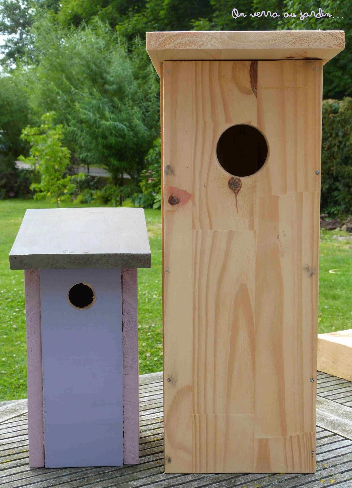 On Verra Au Jardin...: Nichoirs, La Suite... pour Copeaux De Bois Jardin