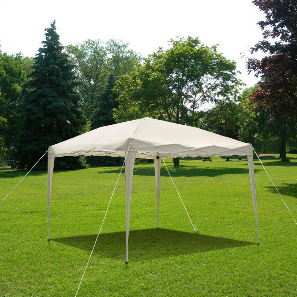 Only 118.42€, Ikayaa 3 * 3 * 2.6M Pliante De Jardin Outdoor Canopy Gazebo  Pop Up De Mariage Tente - Lovdock encequiconcerne Tente De Jardin Pliante