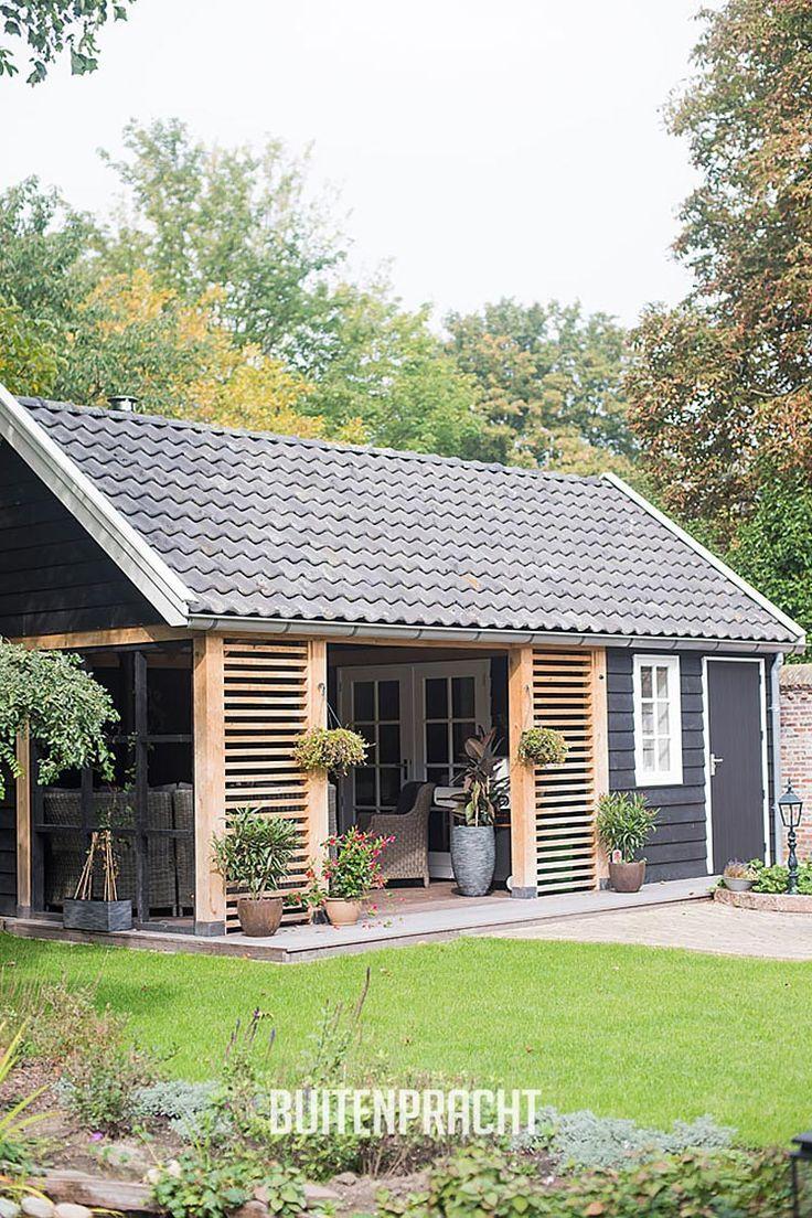 Ontwerp - Realisatie Buitenpracht Stijlvolle Houtb ... à Abri De Jardin Habitable