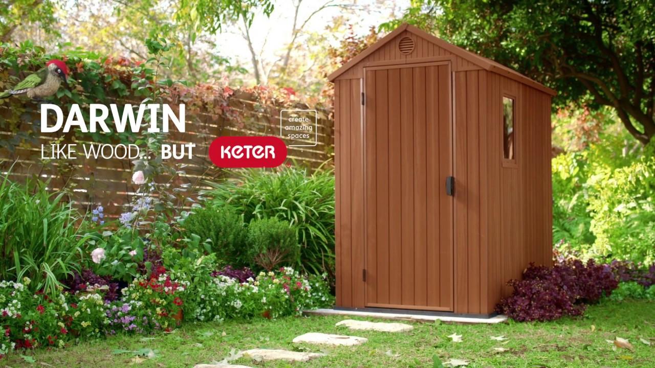 Oogarden - Abri De Jardin En Résine Darwin - Keter intérieur Abri Jardin Oogarden
