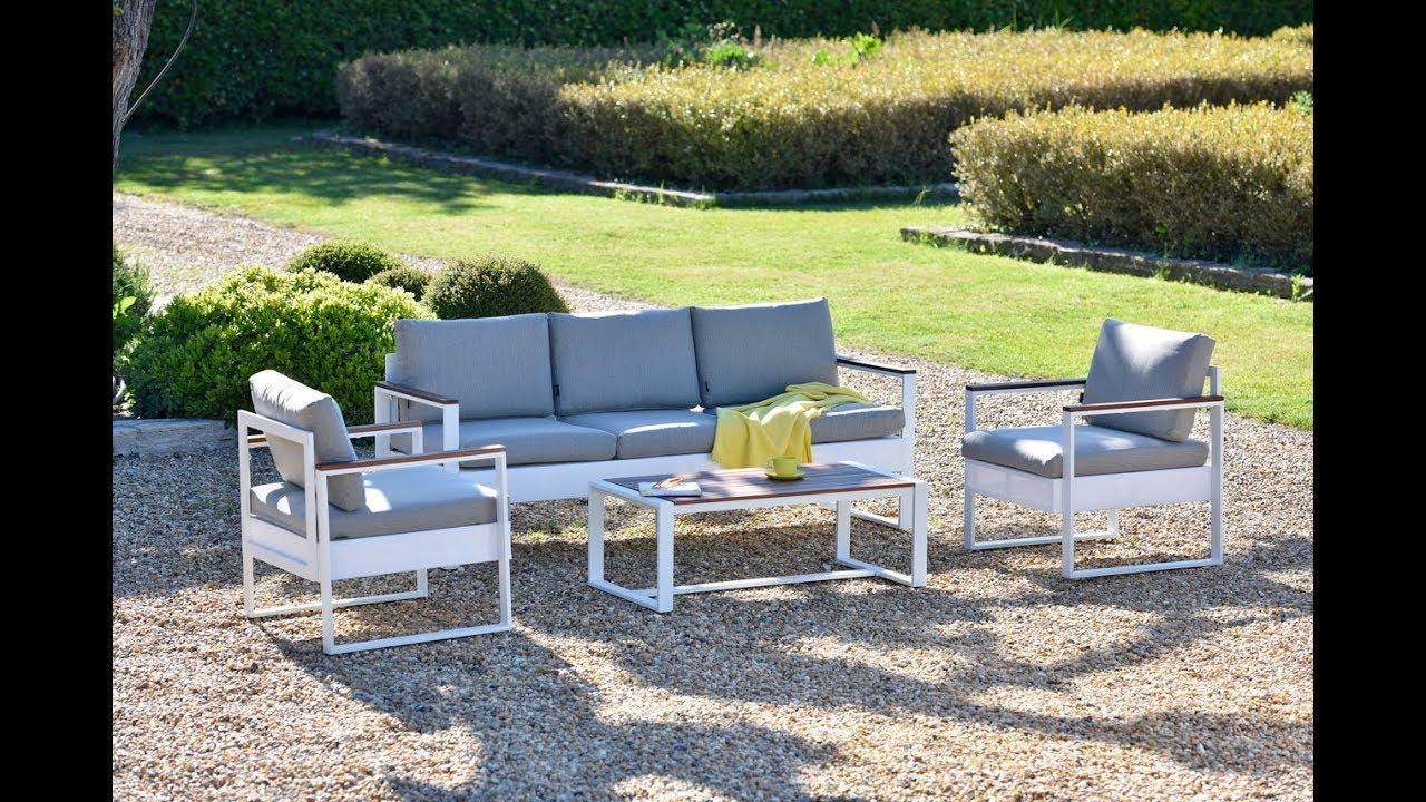 Oogarden - Salon Bas De Jardin Carla pour Salon De Jardin Carrefour Home