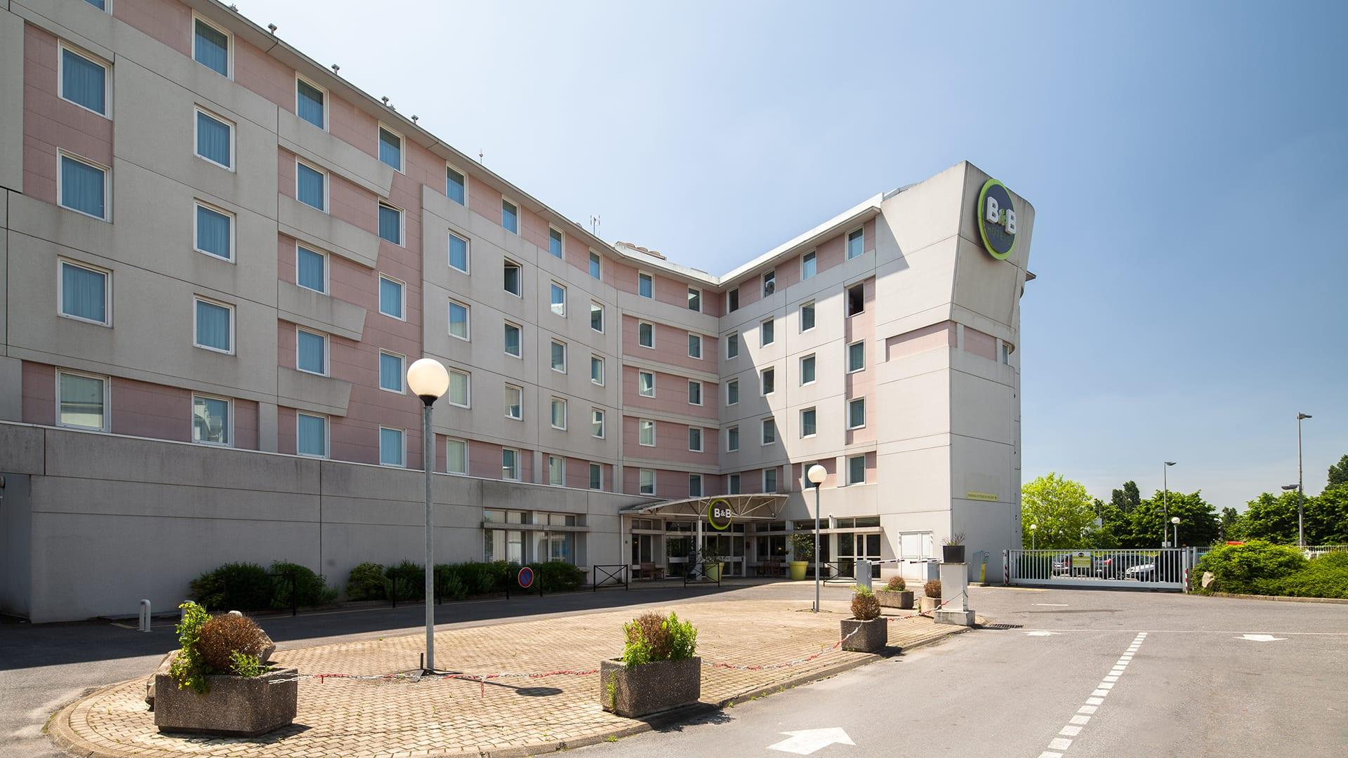 Otel B&b Hotel Paris Roissy Cdg Aéroport, Roissy-En-France ... pour Hotel Des Jardins Vincennes