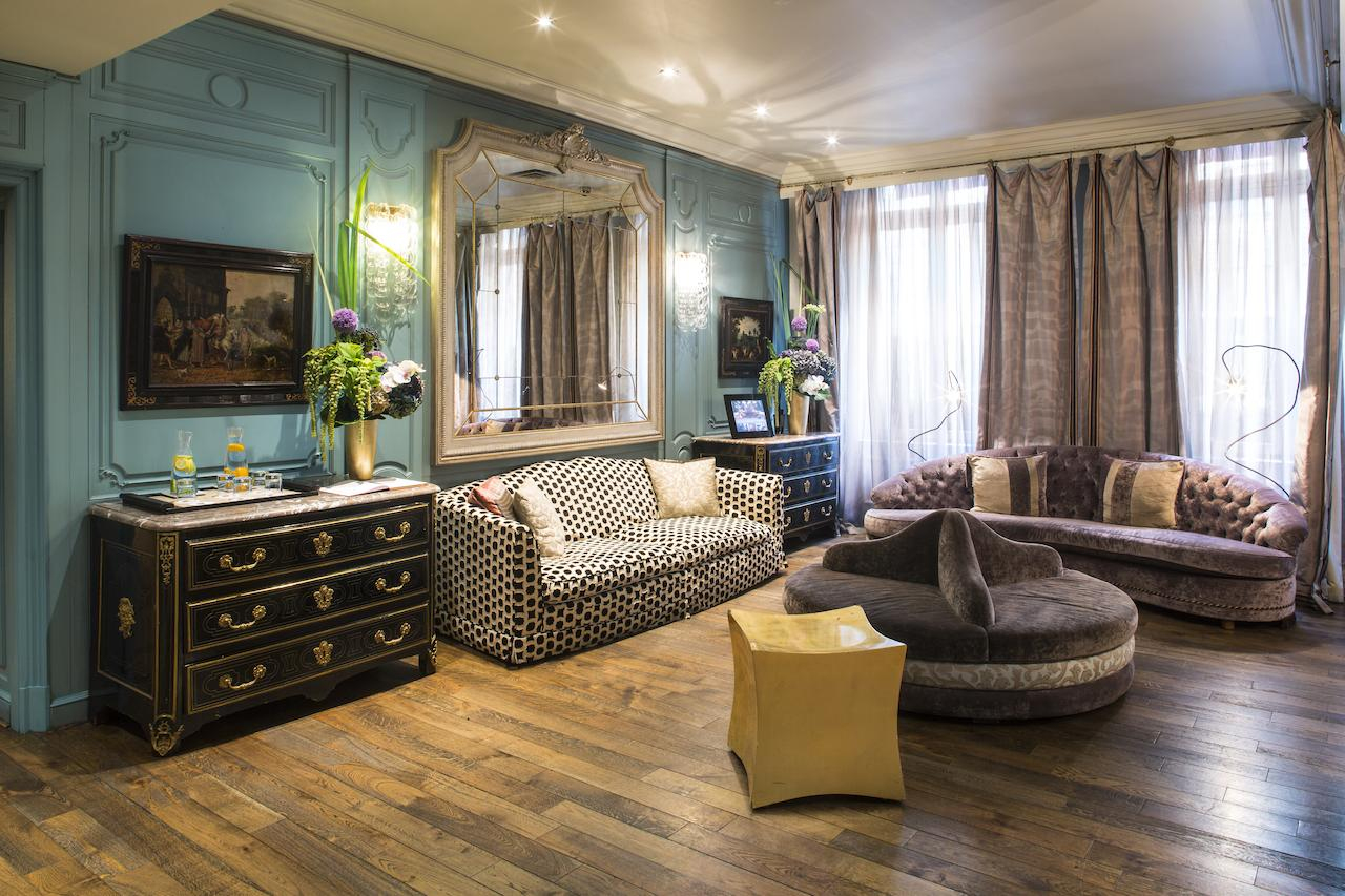 Otel Castille Paris (Fransa Paris) - Booking à Salon De Jardin Alice Garden
