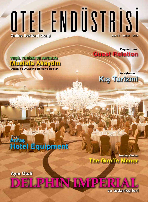 Otel Endüstrisi Dergisi Subat By Otel Endüstrisi Dergisi - Issuu dedans Hyper U Salon De Jardin