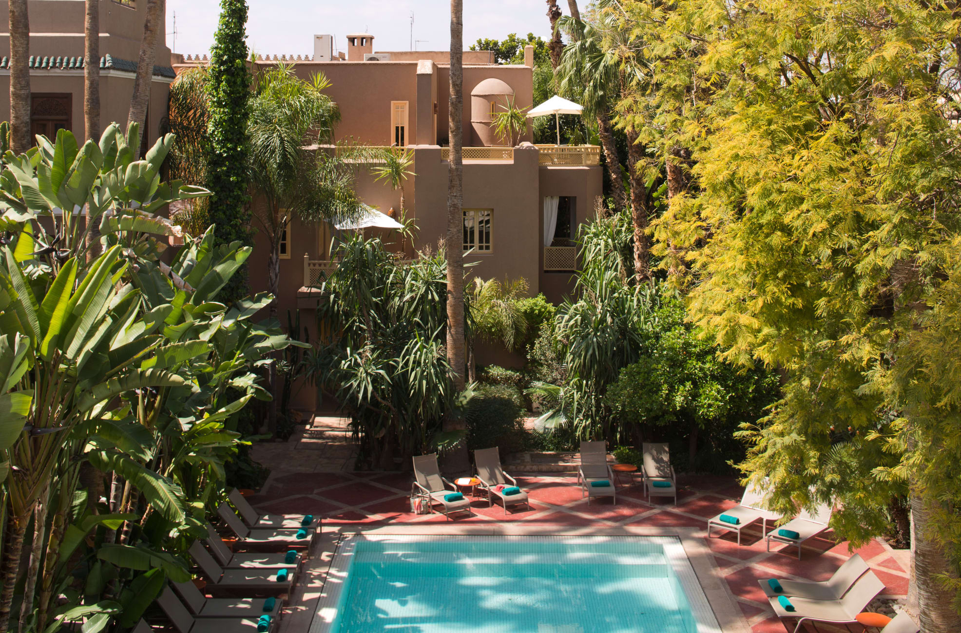Otel Les Jardins De La Médina, Marakeş - Trivago.tr serapportantà Jardin De La Koutoubia