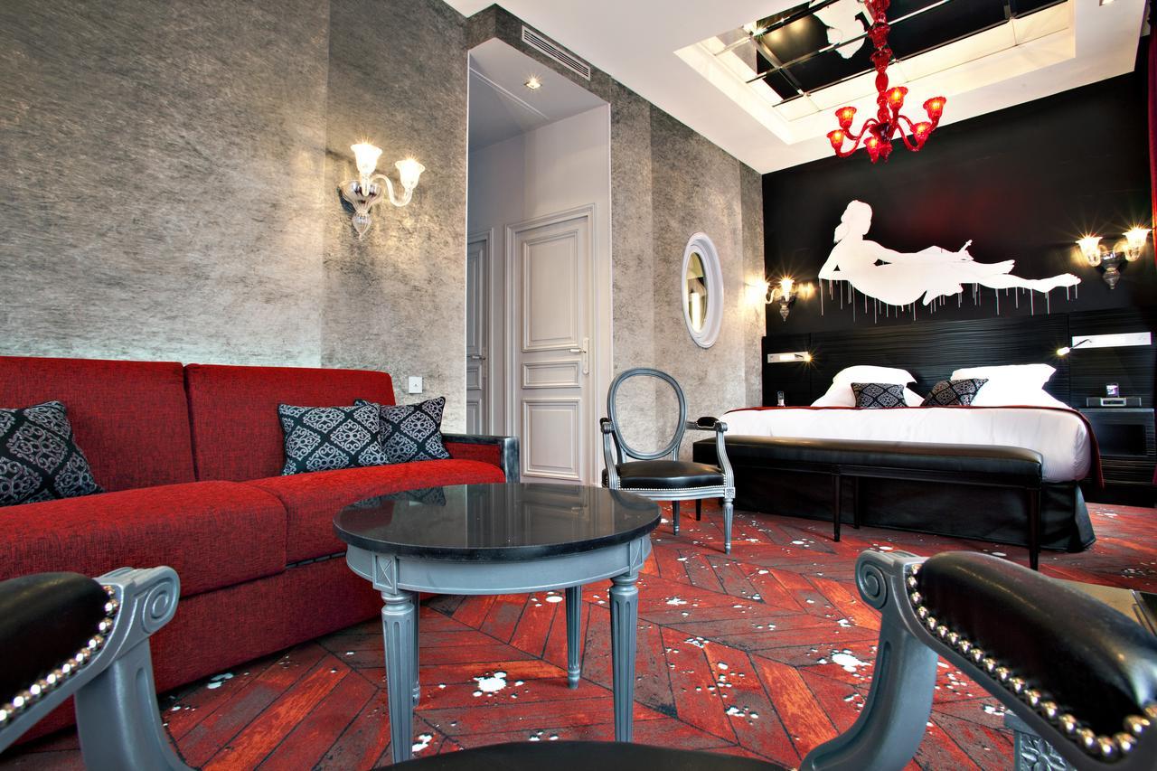 Otel Maison Albar Le Champs-Elysées (Fransa Paris) - Booking tout Salon De Jardin Super U 149