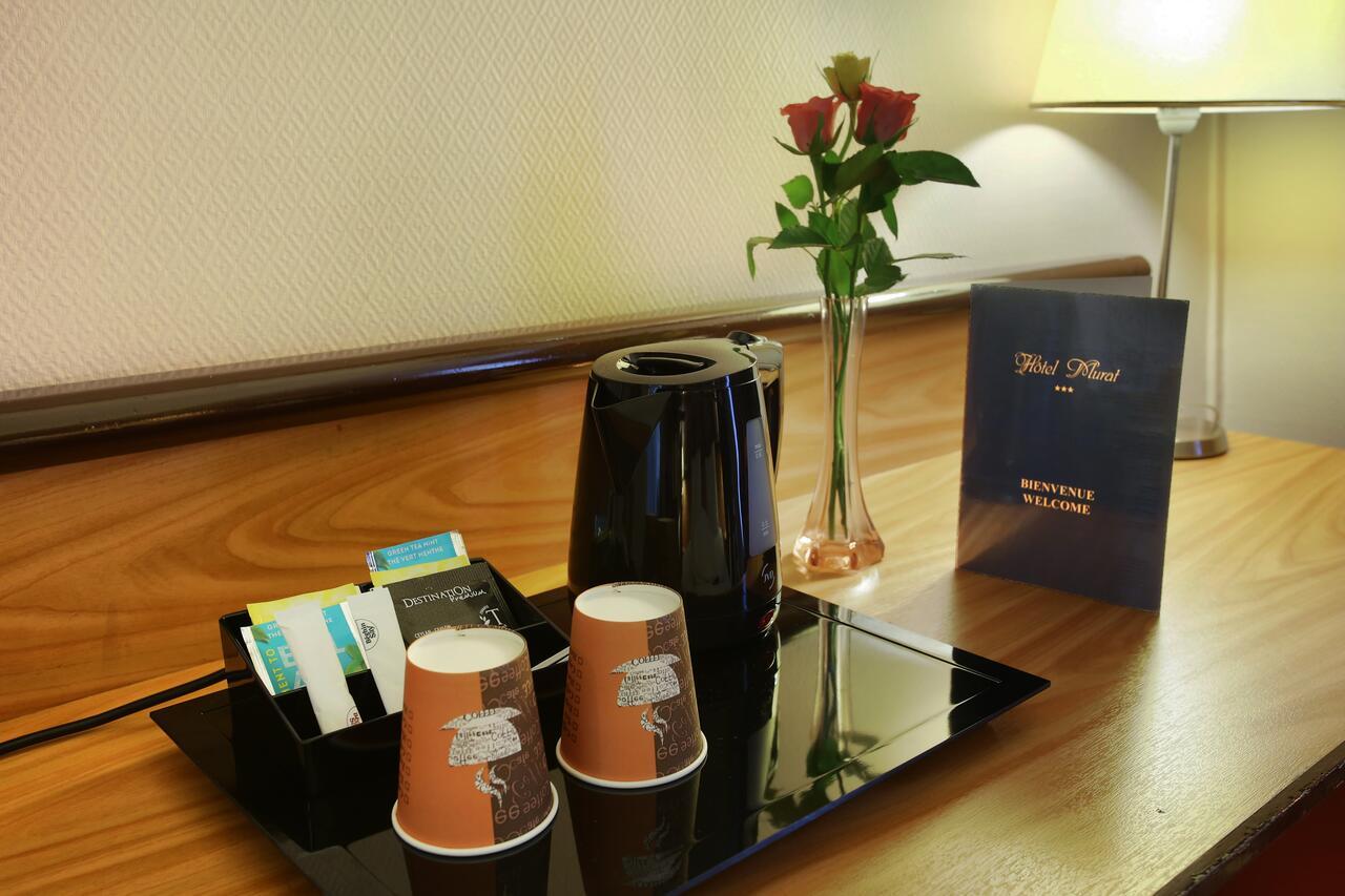 Otel Murat (Fransa Paris) - Booking tout Vase En Pierre Jardin