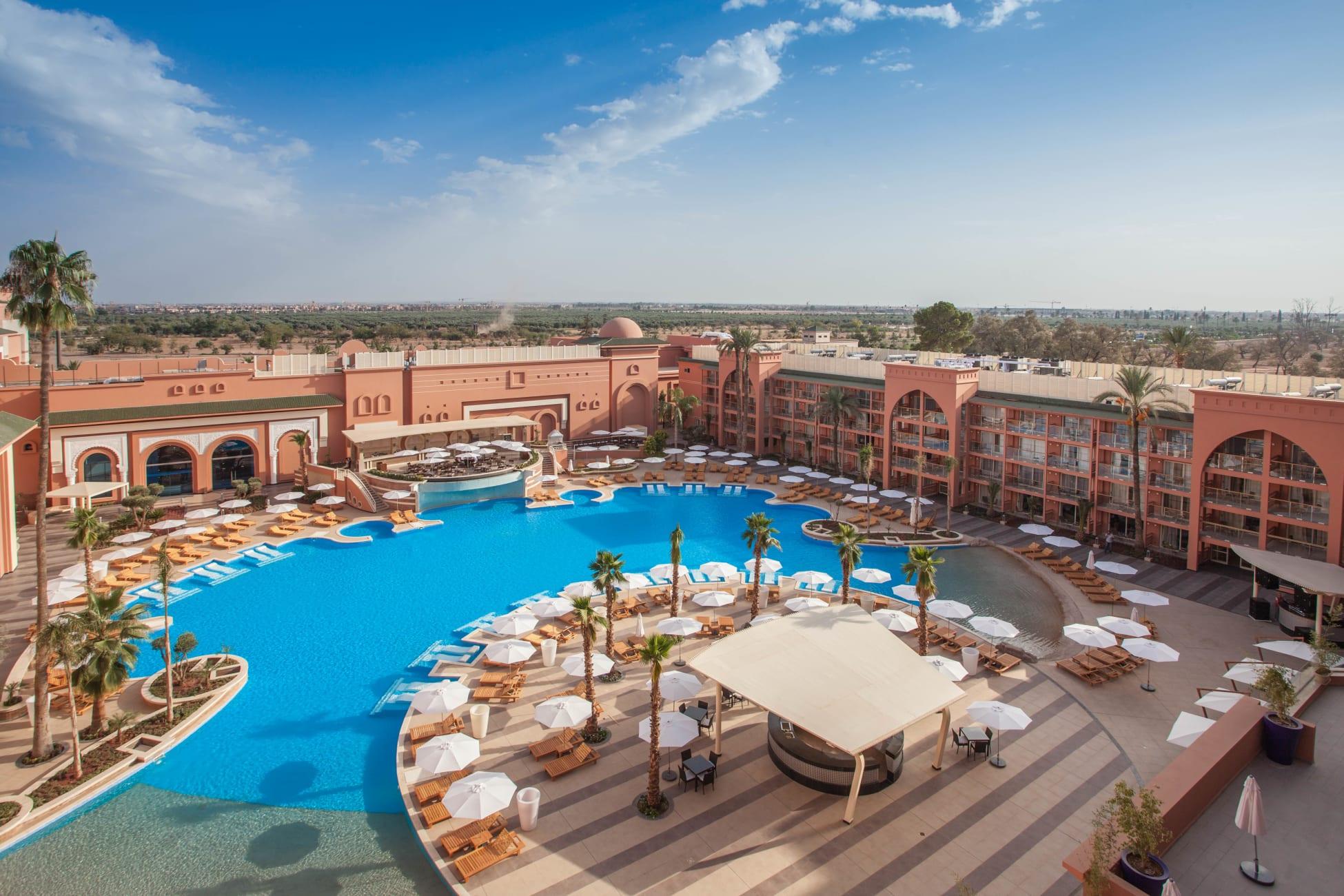 Otel Savoy Le Grand Hotel, Marakeş - Trivago.tr pour Jardin De La Koutoubia
