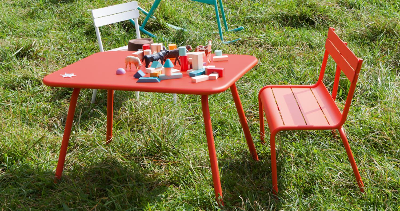 Où Trouver Du Mobilier De Jardin Pour Les Enfants ? - Déco Idées destiné Salon De Jardin Pour Enfants
