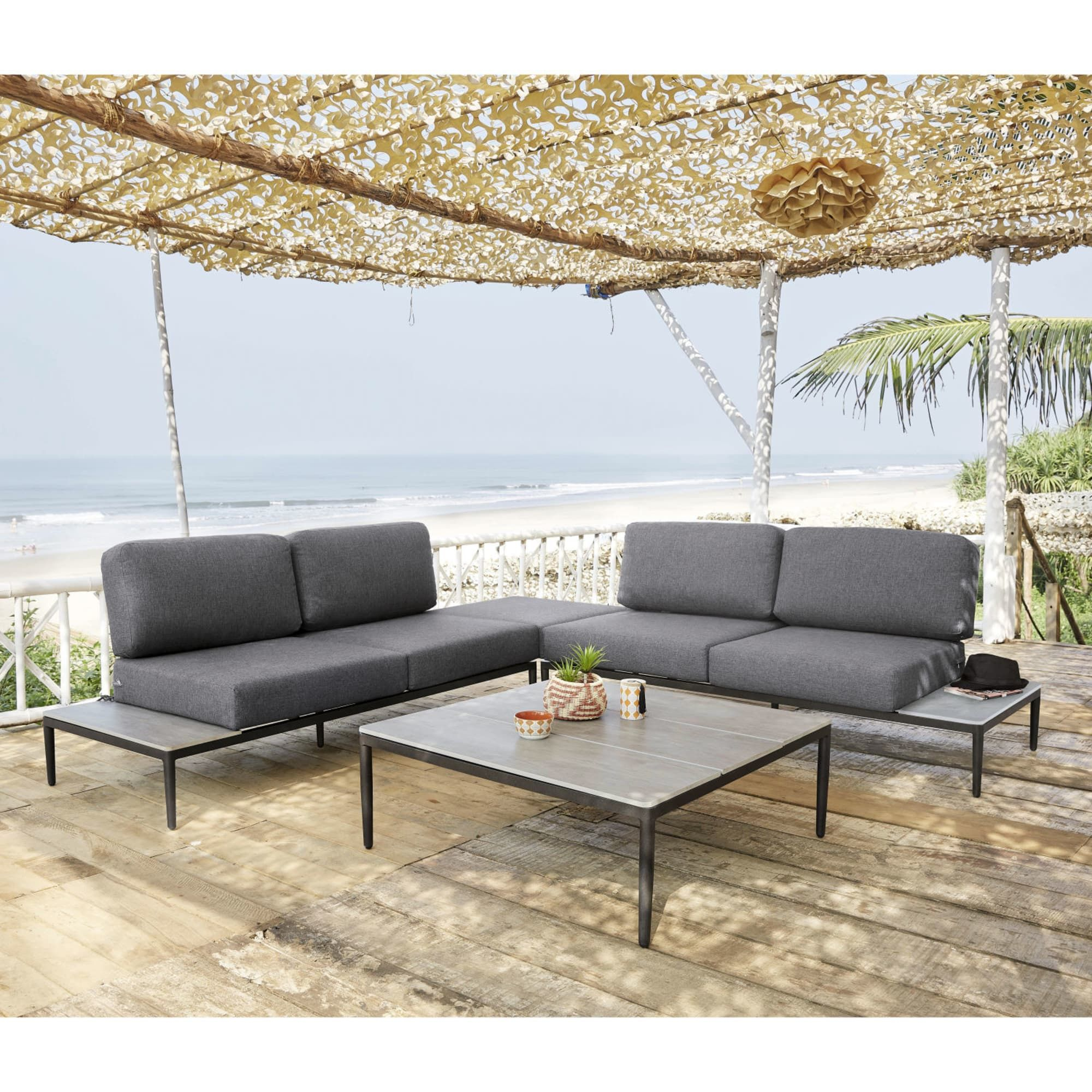 Outdoor Furniture | Aluminum Patio, Outdoor Furniture, Outdoor pour Table De Jardin Auchan
