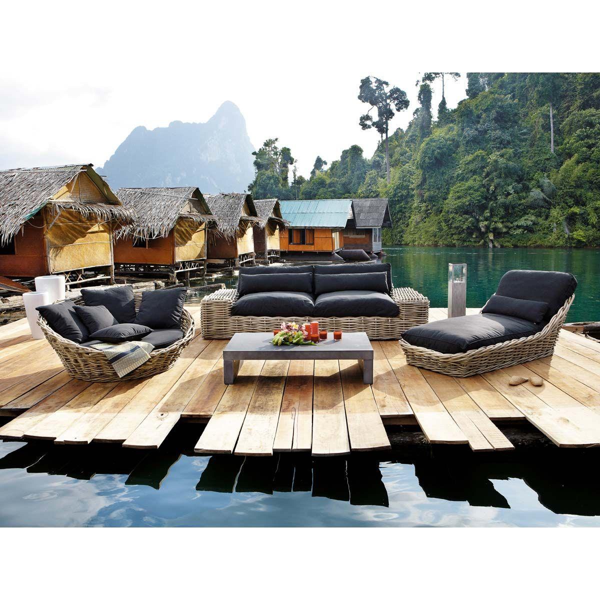 Outdoor Furniture In 2020   Outdoor Furniture Sets, Outdoor ... dedans Maison Du Monde Salon De Jardin