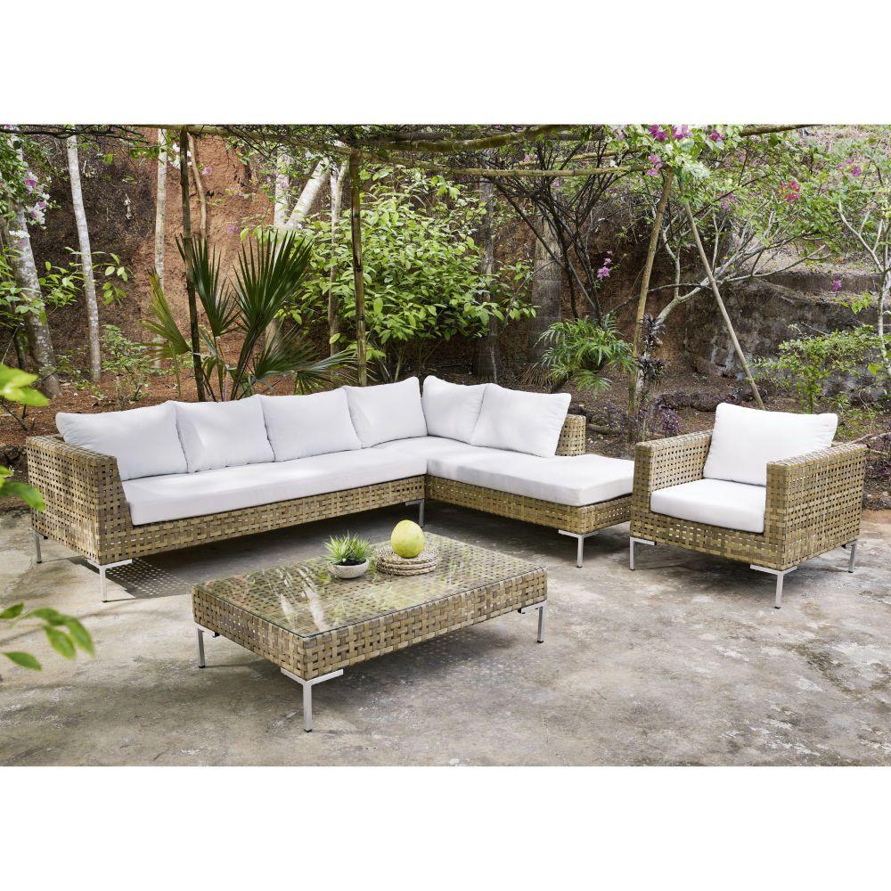 Outdoor Furniture In 2020 | Painting Wicker Furniture ... avec Salon De Jardin Nevada