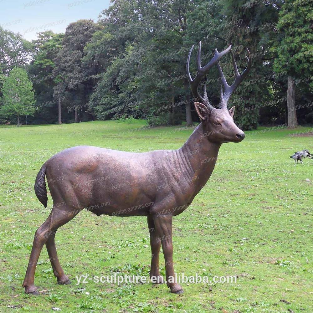 Outdoor Life Size Bas-A048 Bronze Moose Statue - Buy Bronze Moose  Statue,life Size Moose Statue,bronze Animal Statue Product On Alibaba à Jardins Animés Sculpture