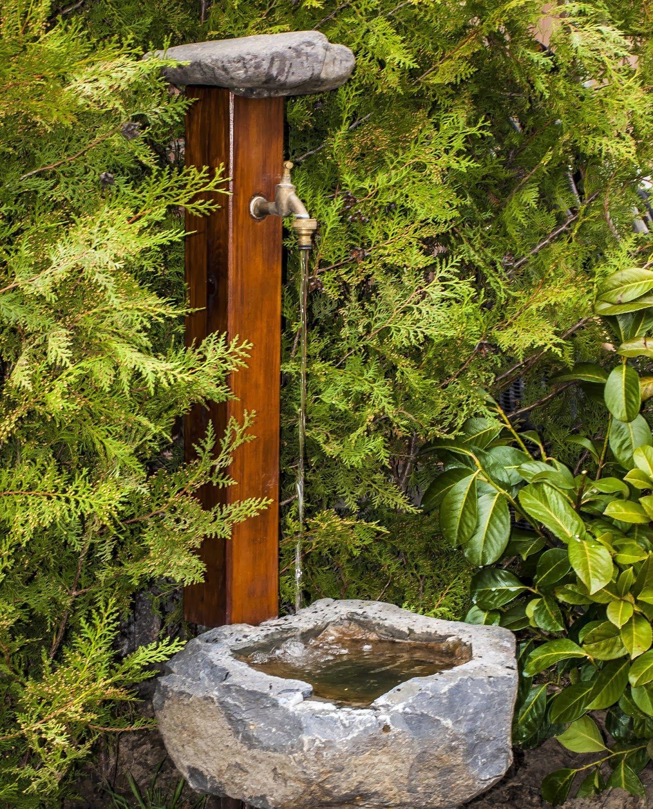Outdoor Tap | Bahçe Tasarım Fikirleri, Bahçe Duşu, Bahçe ... serapportantà Pot En Fonte Pour Jardin
