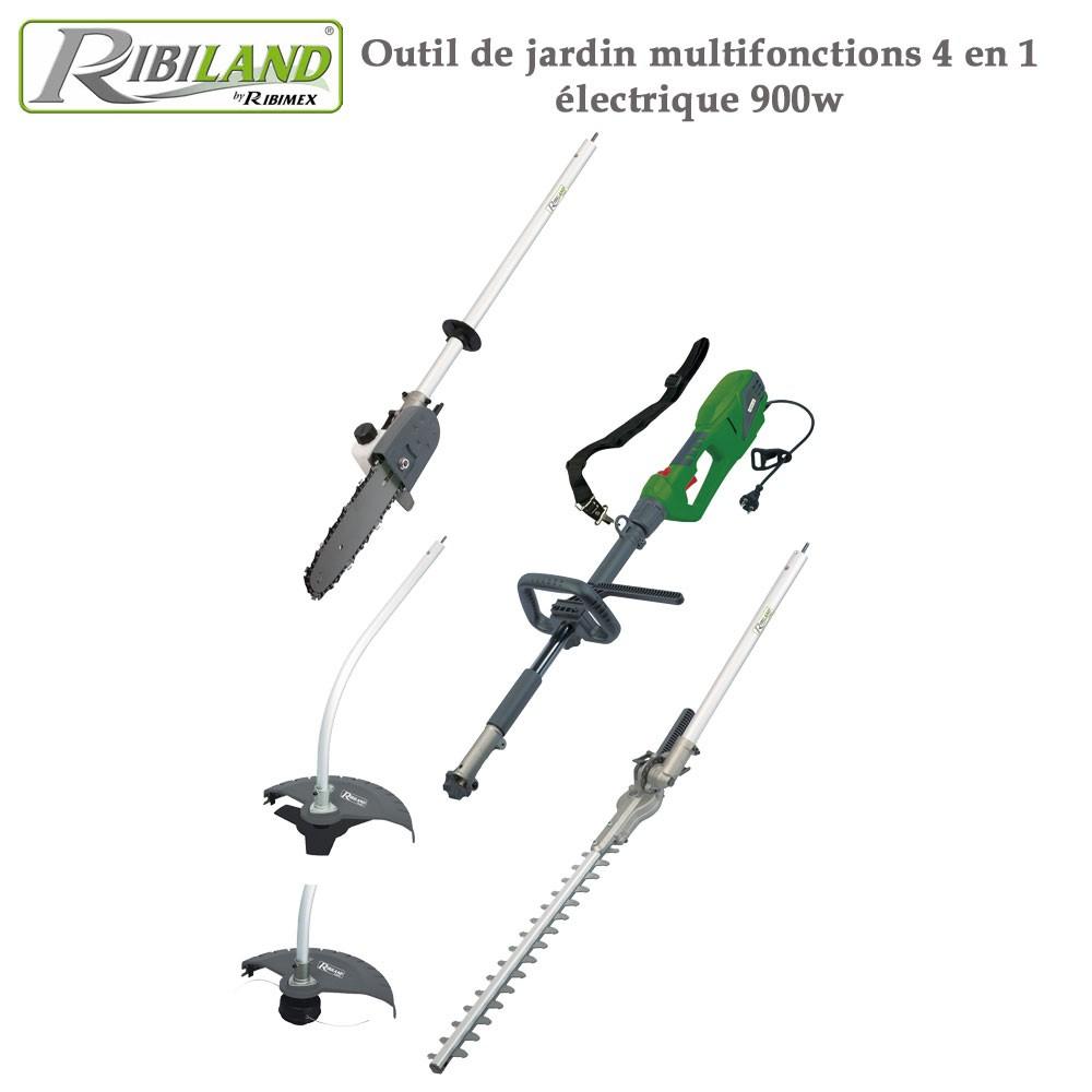 Outil De Jardin Multifonctions 4 En 1 Électrique - 900 W. concernant Outil Multifonction Jardin