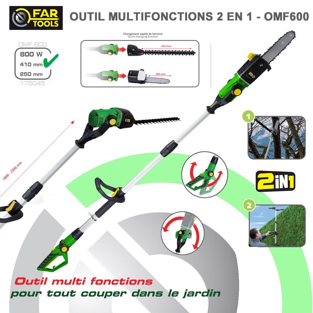 Outil Multifonctions Électrique Omf600 intérieur Outil Multifonction Jardin
