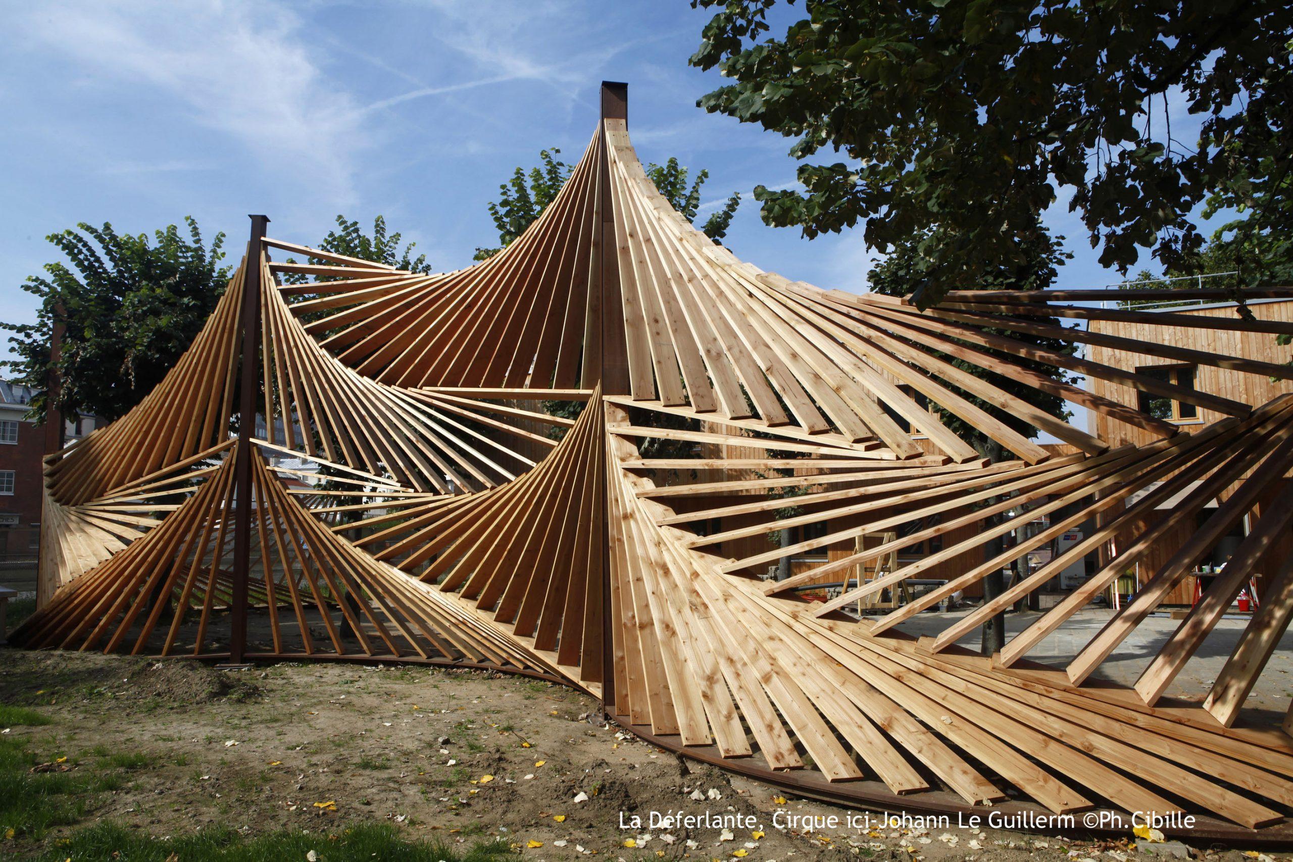Ouvrage D'art Bois Extérieur Structure Sur Mesure | Sle destiné Pont En Bois Pour Jardin