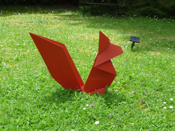 P1020720.jpg Sculpture By Jean Beranger   Artmajeur encequiconcerne Animaux Deco Jardin