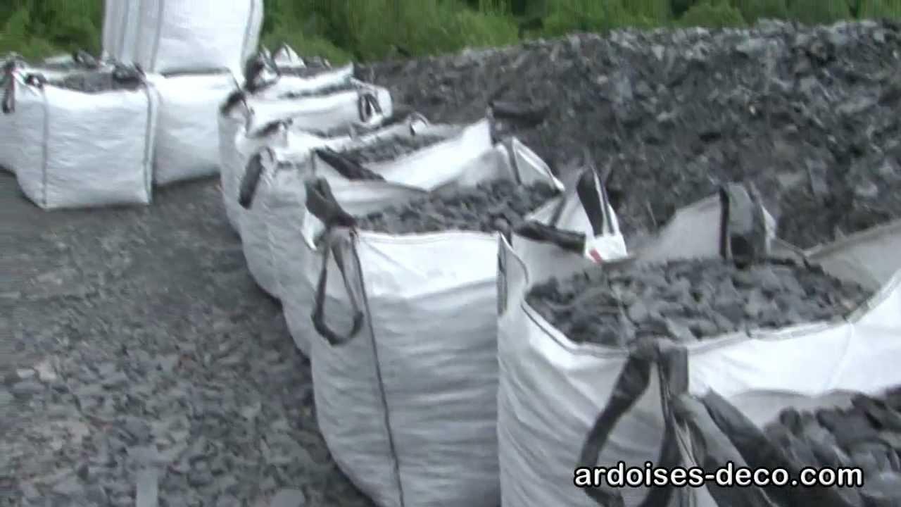 Paillette Ardoise De Concassage, Déco Extérieure, Ardoisiere À Labassère  Hautes-Pyrénées concernant Ardoise Deco Jardin