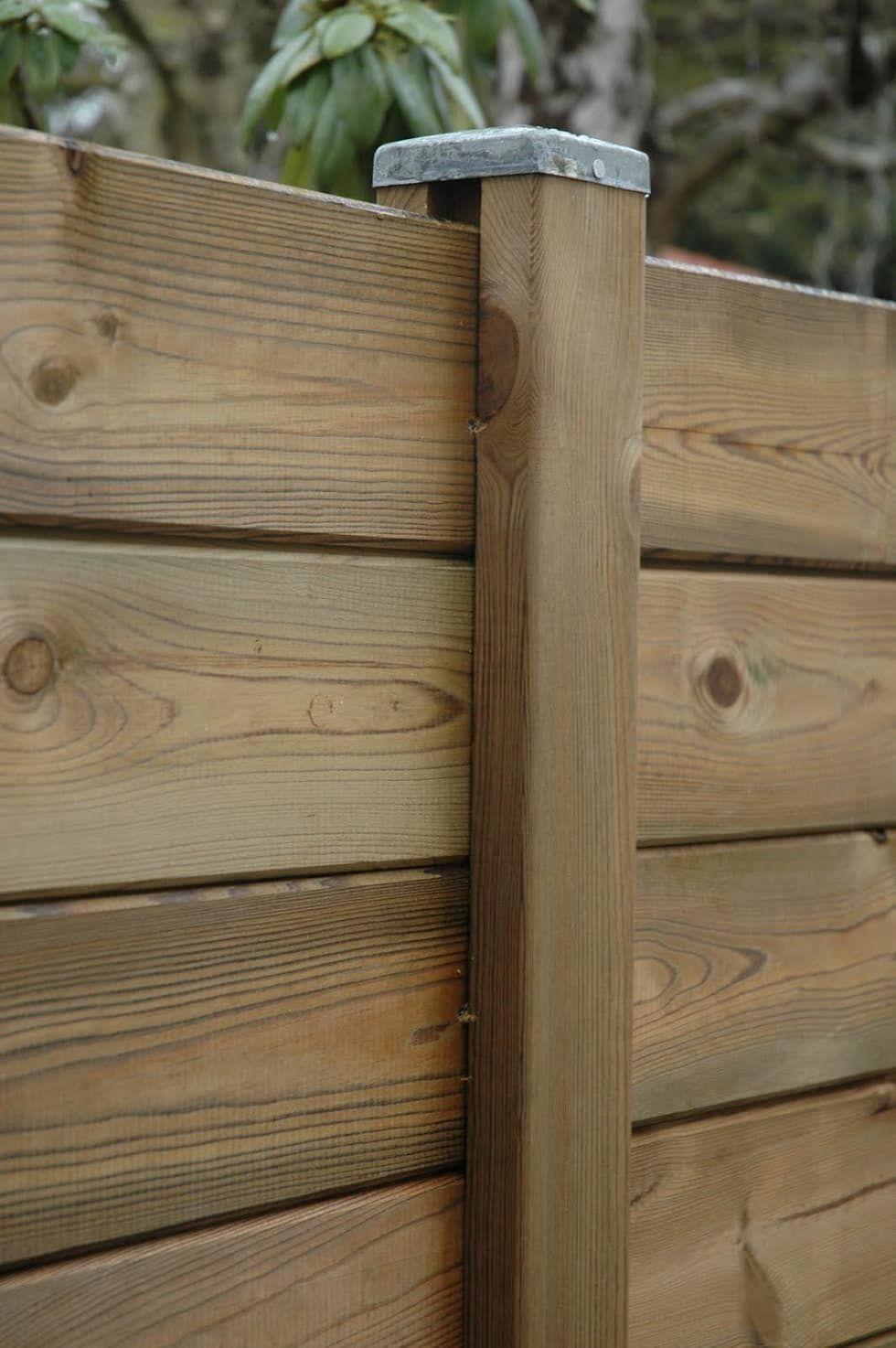 Palissade Bois Parana – Deck-Linéa Jardin Classique Par Deck ... à Panneau De Bois Jardin