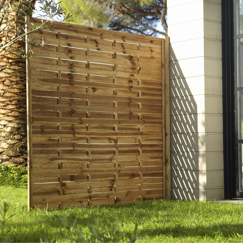 Panneau Bois Cloture Pas Cher Luxe Panneaux De Jardin Pour ... à Panneau En Bois Pour Jardin