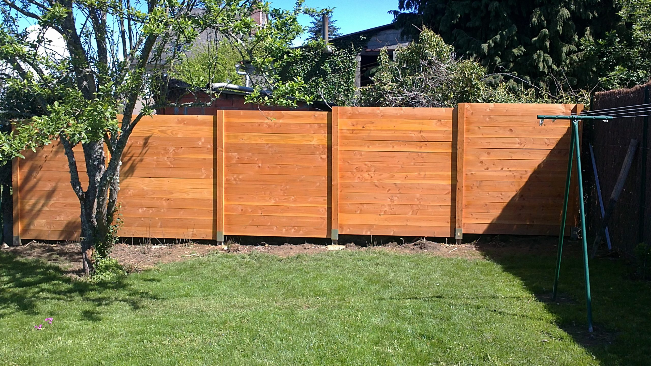 Panneau Bois Cloture Pas Cher Luxe Panneaux De Jardin Pour ... dedans Panneaux Occultants Pour Jardin